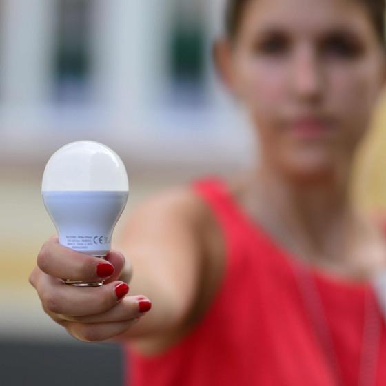 Neue LED-Beleuchtung im Kreishaus